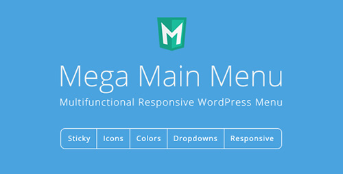 CodeCanyon - Mega Main Menu v2.0.7 - WordPress Menu Plugin