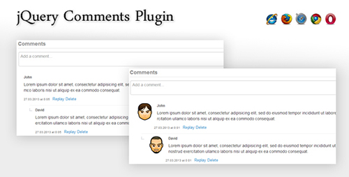 CodeGrape - jQuery Comments Plugin