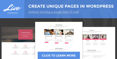 CodeCanyon - Live Composer - Front-End WordPress Page Builder v1.2.1