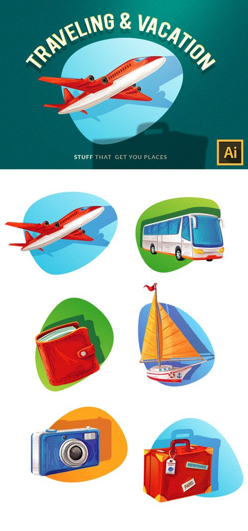 Traveling Vector Set