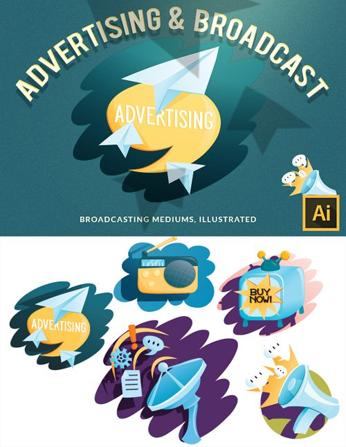 Vector Advertising 13