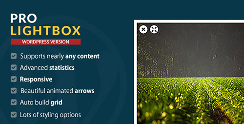 CodeCanyon - WordPress Pro Lightbox plugin v1.0