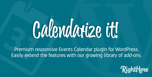 CodeCanyon - Calendarize it! v3.3.9.58832 for WordPress