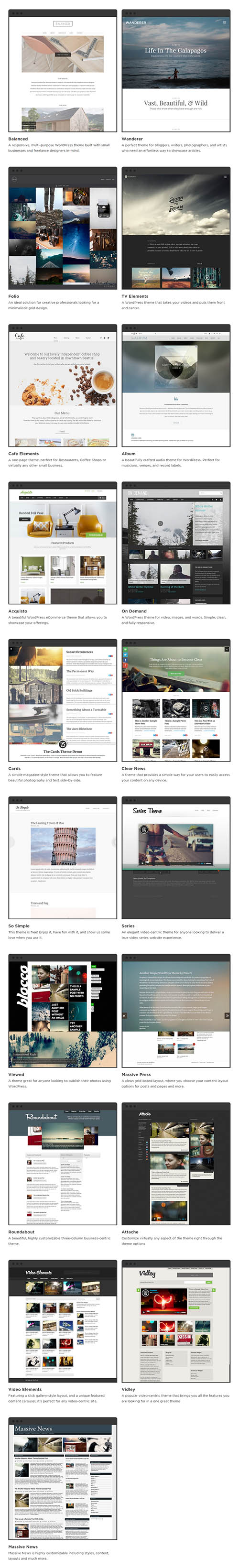 Press75 - WordPress Themes Pack 2015