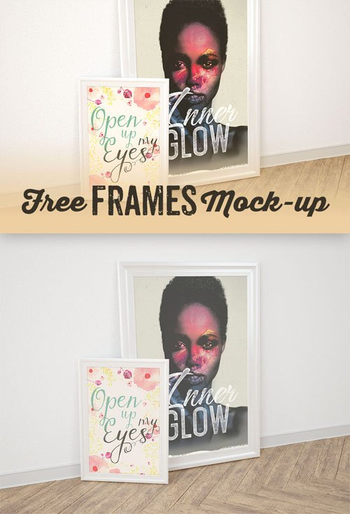 Double Frame Display PSD Mock-Up