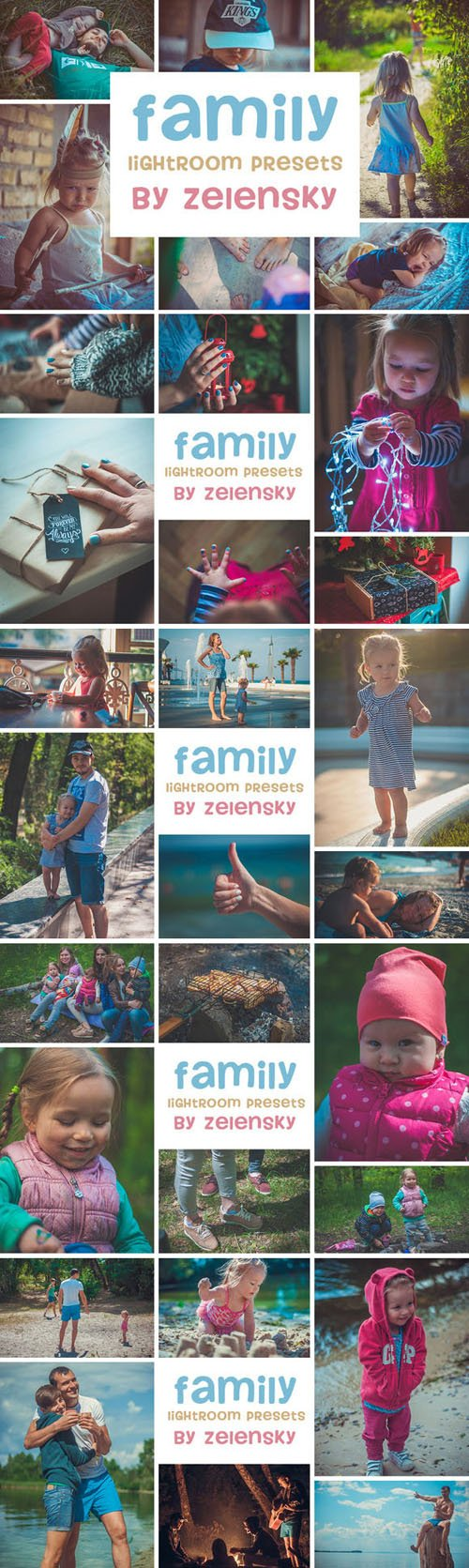 Creativemarket - 30 Family Lightroom Presets 277989