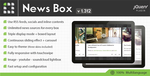 CodeCanyon - News Box v1.312 - jQuery Contents Slider and Viewer
