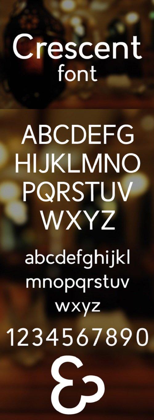 Crescent Font Style