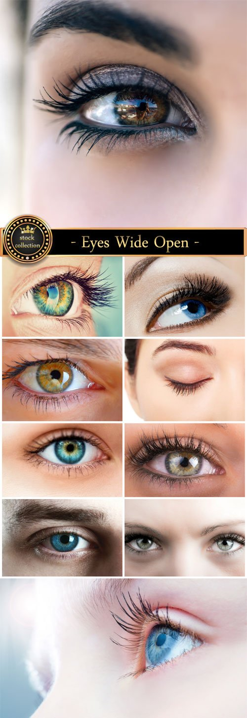 Eyes Wide Open - stock photos