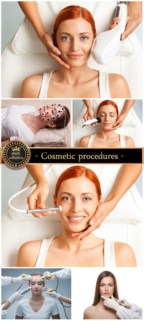 Cosmetic procedures, women - stock photos