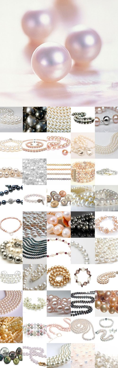Delicate pearl Raster Graphics