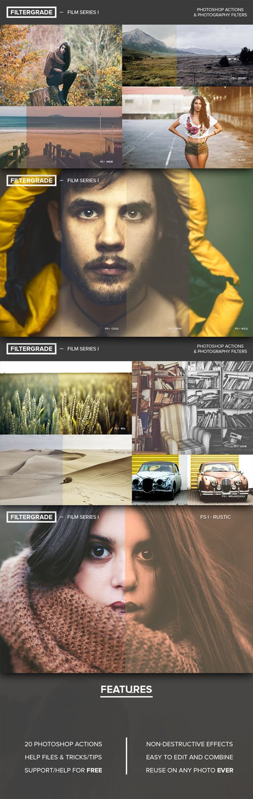 FilterGrade Film Series I - Creativemarket 19406