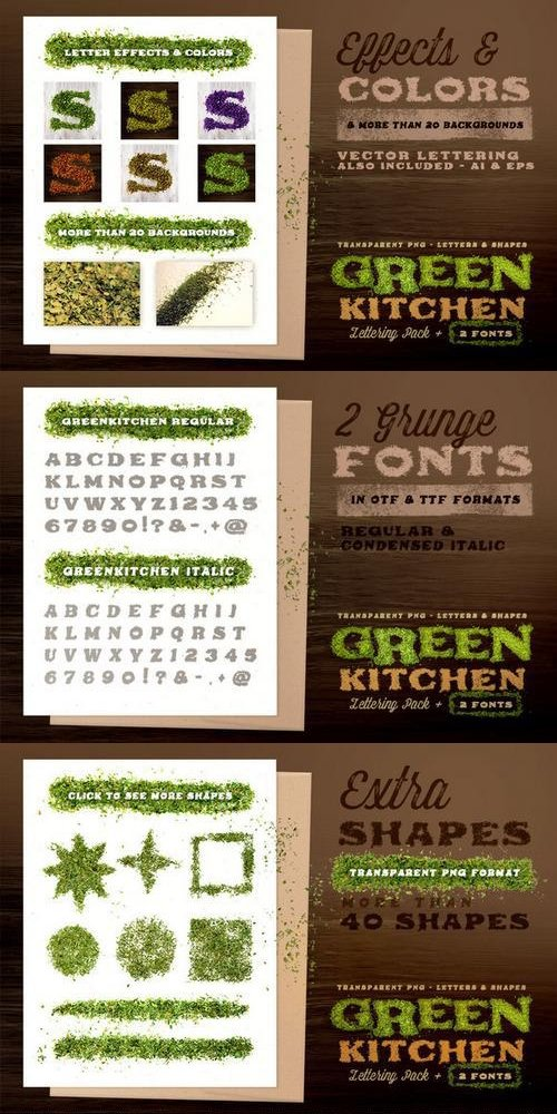 Green Kitchen - Creative Lettering