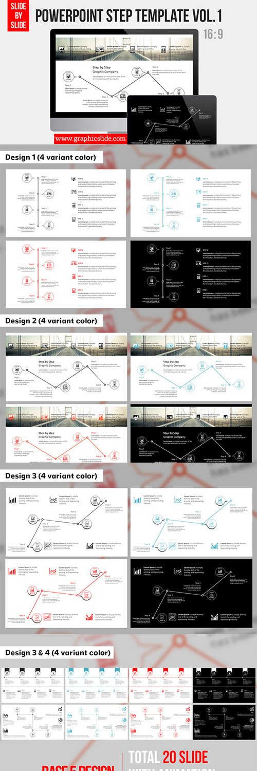 CM - Powerpoint Step Template Vol.1 292019