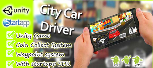ChupaMobile - City Car Driver Unity