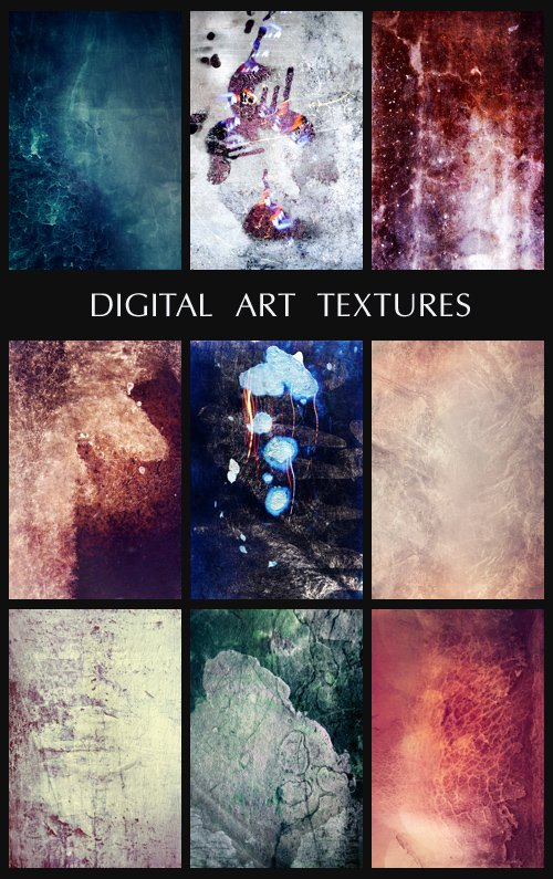 Digital Art Textures, part 8
