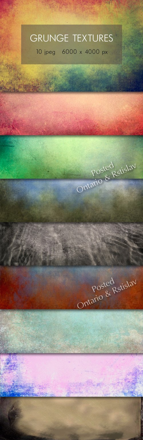 Grunge Textures Pack 60