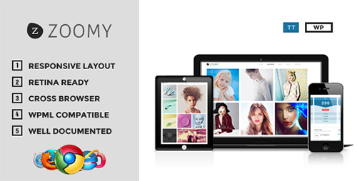 ThemeForest - Zoomy v1.20 - Professional Photography WordPress Theme