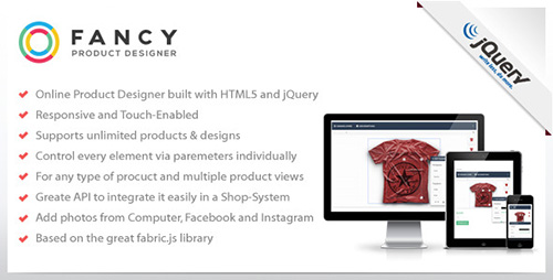 CodeCanyon - Fancy Product Designer - jQuery Plugin v3.0.31