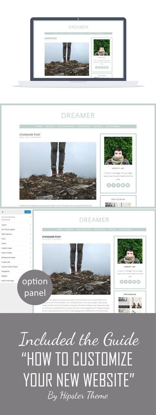 Creativemarket - Dreamer v1.0 - Premium Wordpress Theme 174567