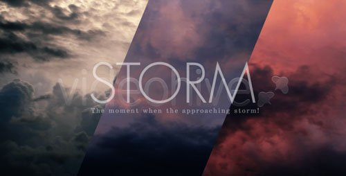 Videohive - Storm Clouds Sky 5108105