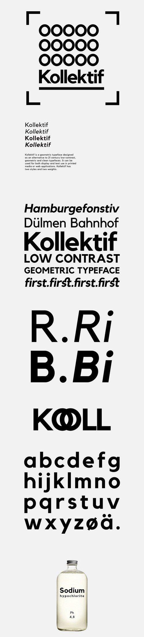 kollektif font download