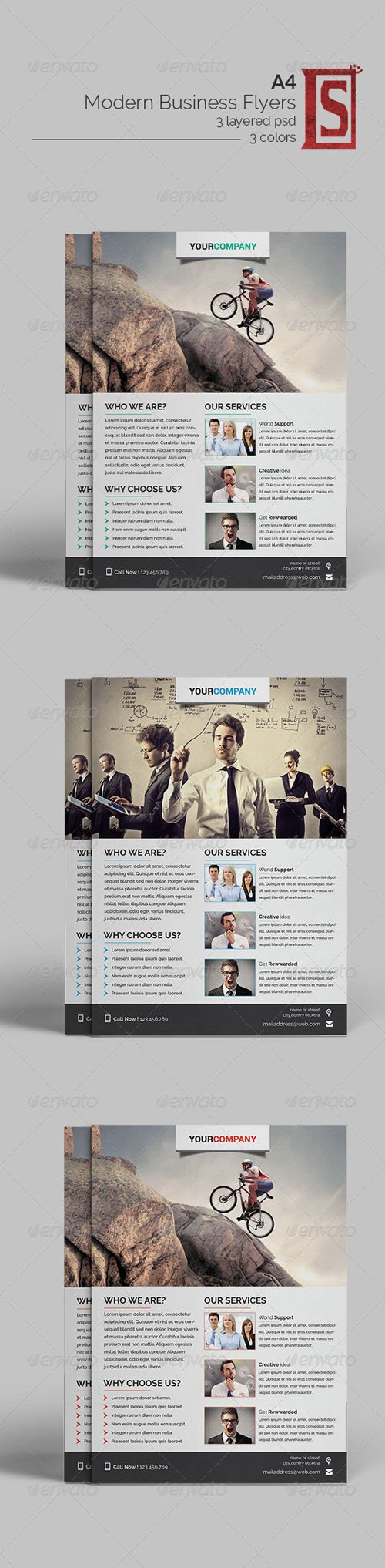 Graphicriver - Multipurpose Business Flyer 8414532