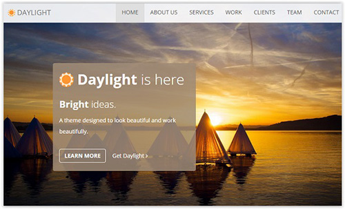 DevelopGo - Daylight Creative Templates