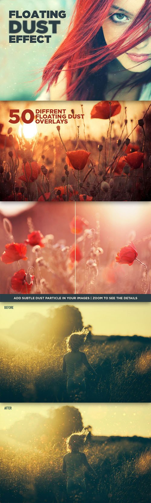 Floating Dust Overlay Subtle Effect - Creativemarket 139933