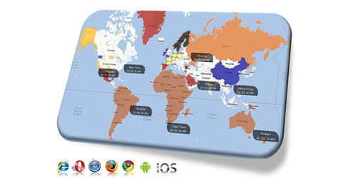 CodeCanyon - Google Maps with Clickable Countries
