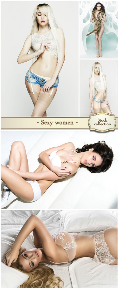 Sexy women, fashion girls - Stock photo