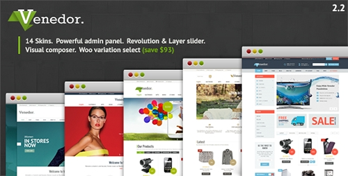 ThemeForest - Venedor v2.2.12 - WordPress + WooCommerce Theme