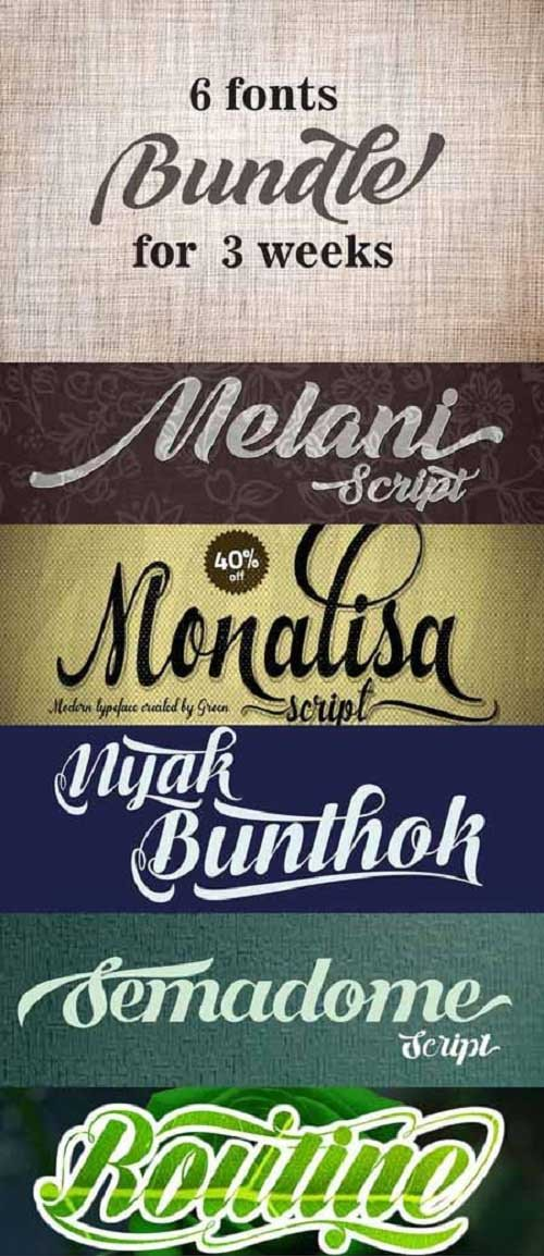 Different Yq Bundle Fonts Style