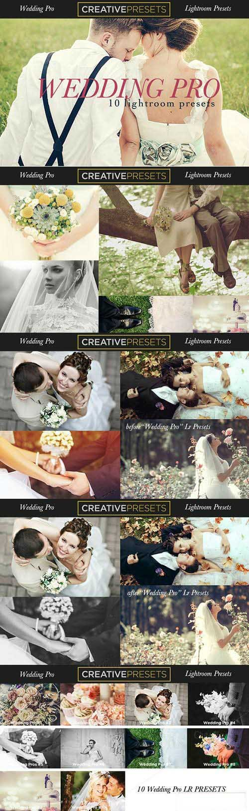 Wedding Pro 10 Lightroom Presets