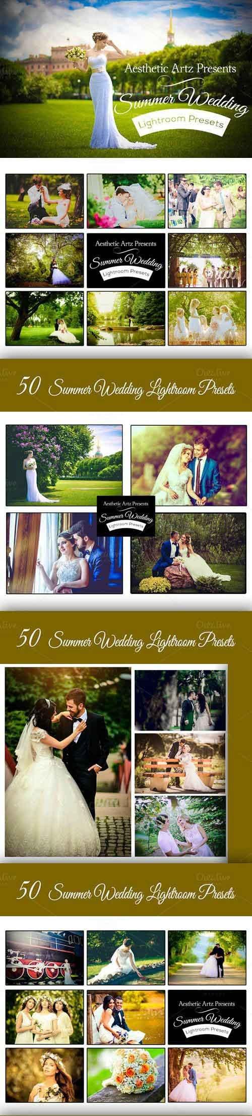 50 Summer Wedding Lightroom Workflow