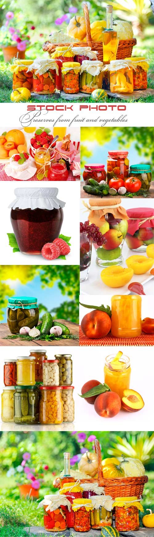 Preserves from fruit and vegetables