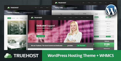 ThemeForest - Truehost v1.0 - WordPress Hosting Theme + WHMCS