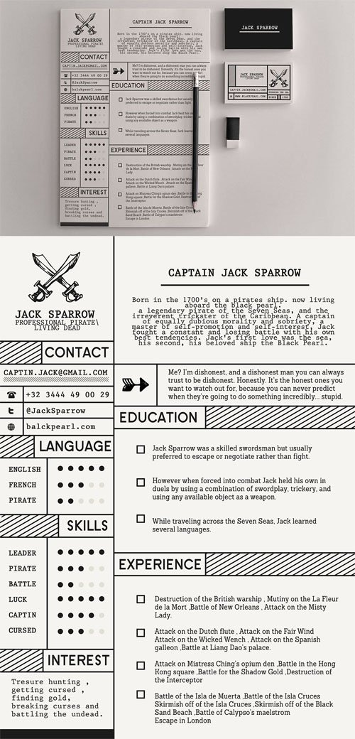 Professional pirate resume template scripts nulled scriptznull yelopaper Gallery
