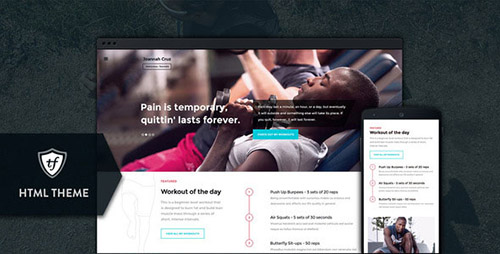 ThemeForest - In Shape v1.0 - Fitness HTML Theme