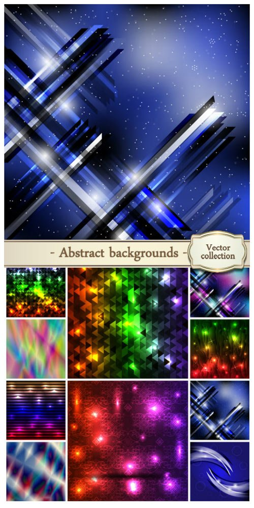 Vector abstract backgrounds #25