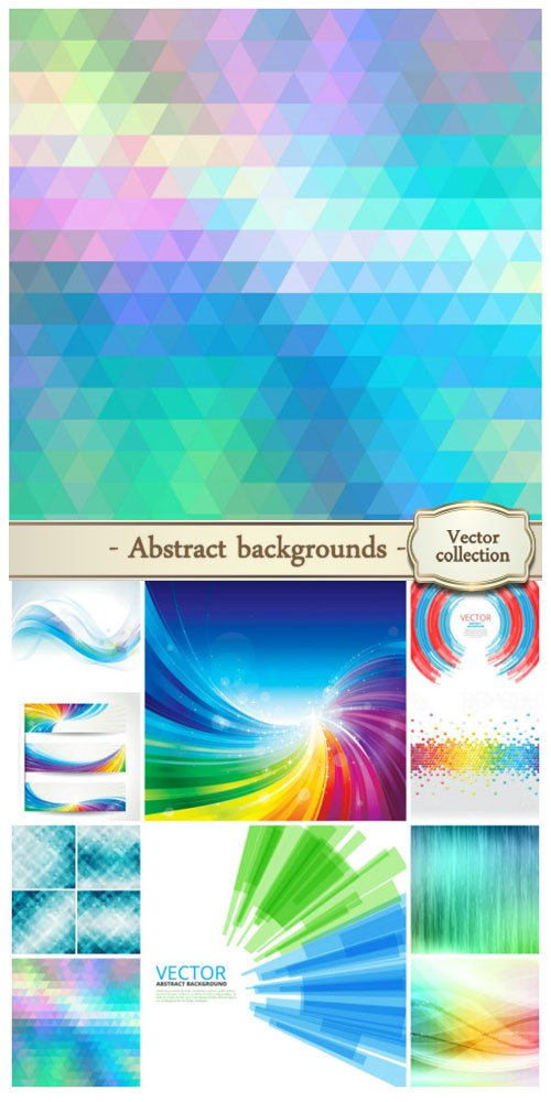 Vector abstract backgrounds #26