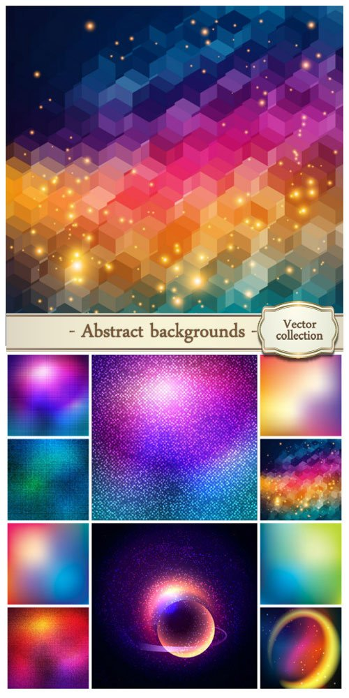 Vector abstract backgrounds #31