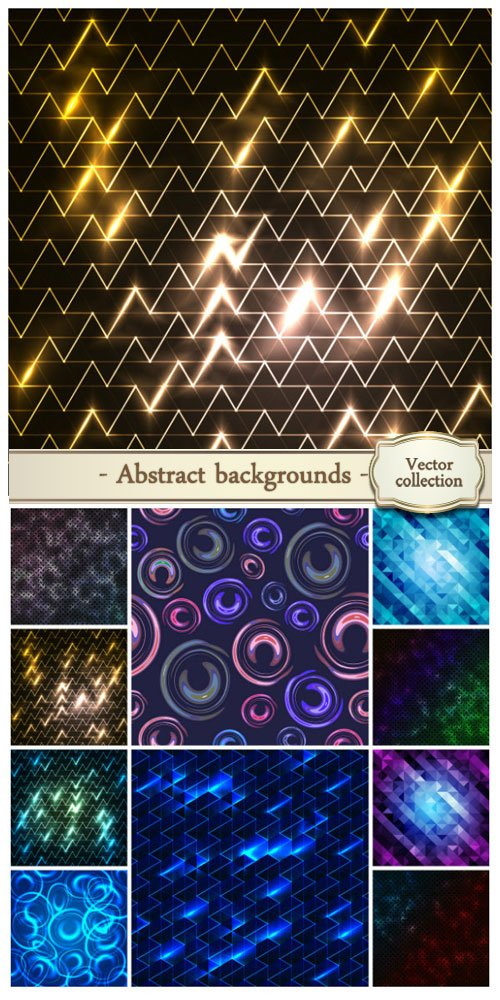 Vector abstract backgrounds #32