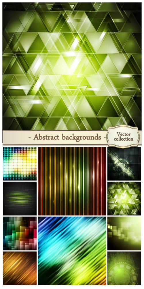 Vector abstract backgrounds #33