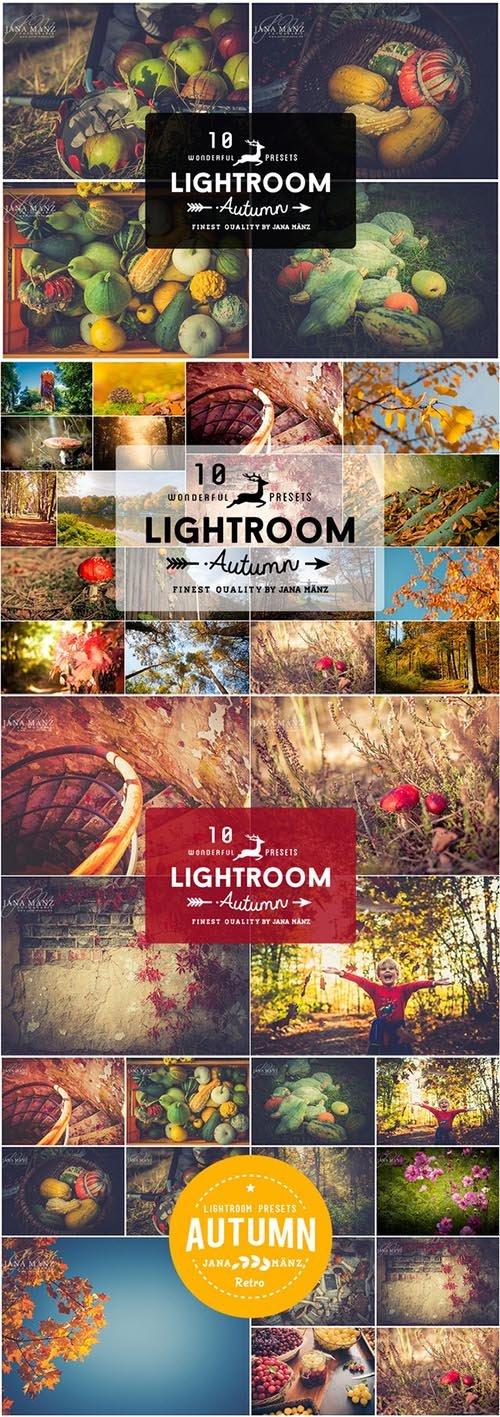 CM - 10 Autumn Vintage Lightroom Presets 336596