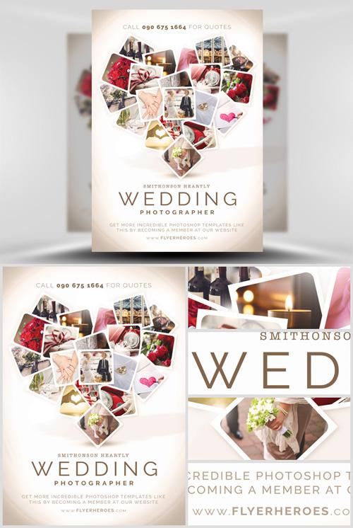 wedding flyer templates free