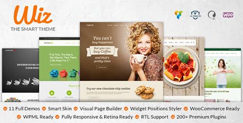 ThemeForest - Wiz v1.0.1 - The Smart Multipurpose WordPress Theme
