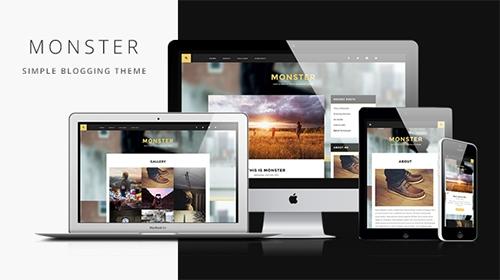 Mojo-Themes - Monster v1.2 - Simple Blogging Responsive WordPress Theme