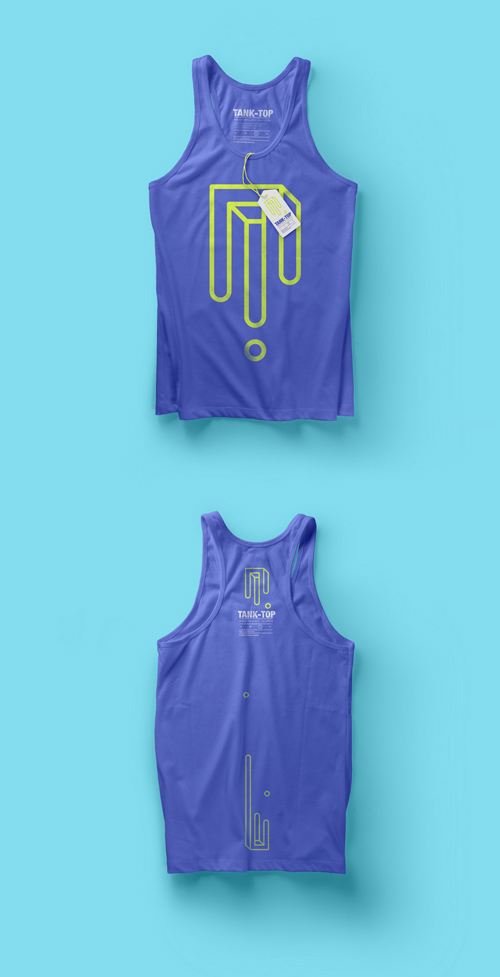 Tank Top Mockup Vol 3 » NitroGFX - Download Unique Graphics For ...