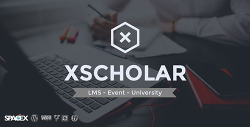 ThemeForest - XScholar v1.0 - LMS Course Event University WordPress